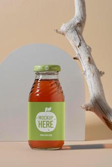 Mockup di progettazione etichettatura gin
