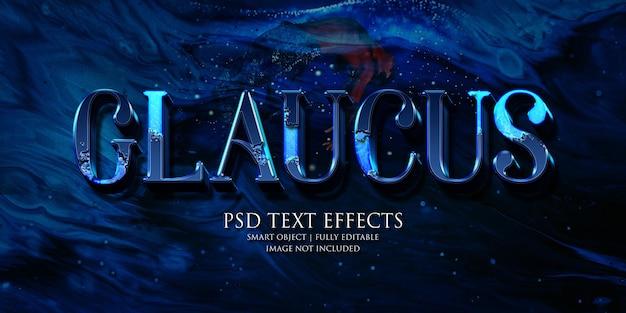 Glaucus effetto testo