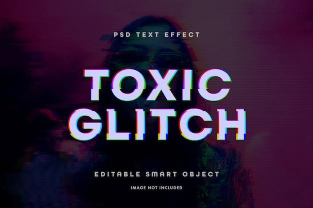 Effetto testo glitch