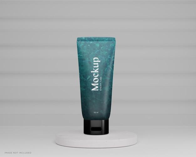 Modello di tubo cosmetico lucido