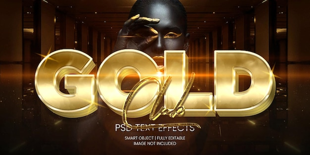 Effetto testo gold club