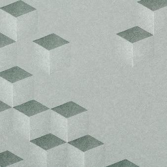 Sfondo grigio con motivo cubico