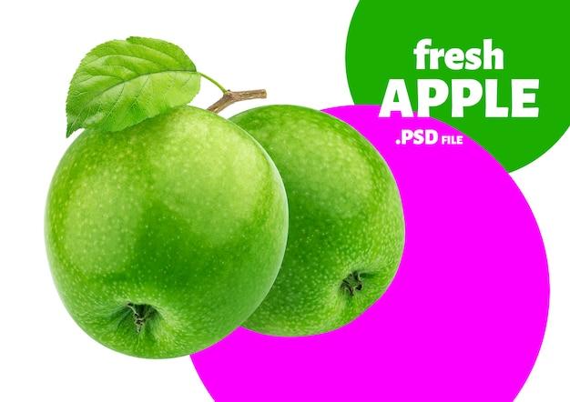 Frutti di mela verde