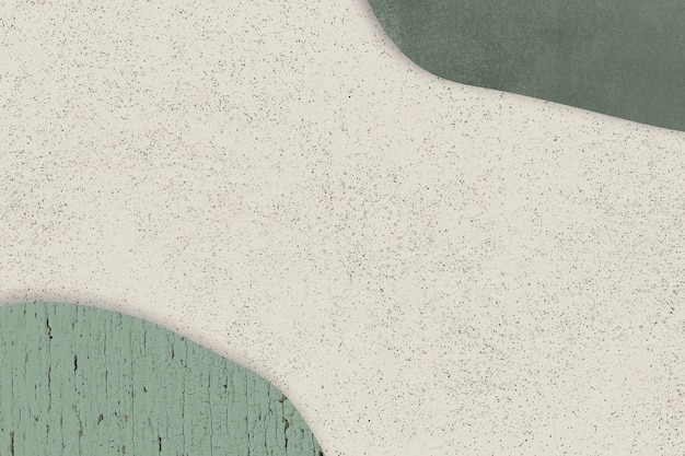 Modello verde su sfondo beige vettore