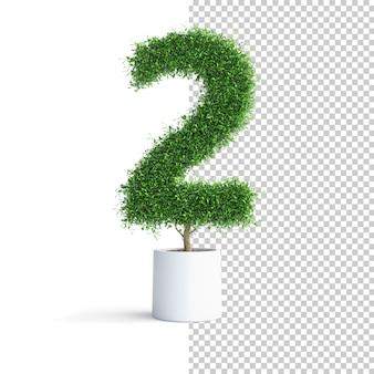 Albero verde numero 2