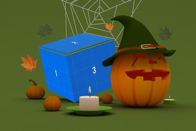 Scatola di halloween