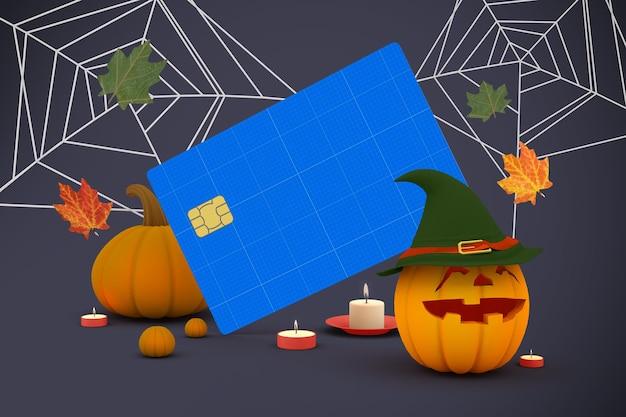 Carta di credito di halloween