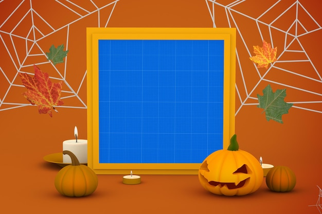 Mockup di halloween