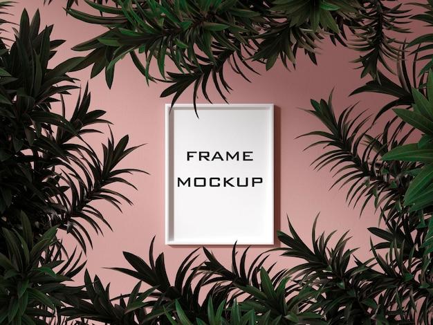 Halloween pumkins frame mockup premium psd