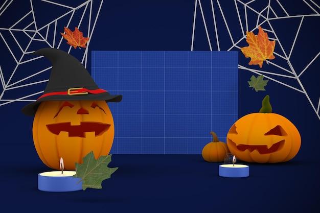 Modello di cartello di halloween