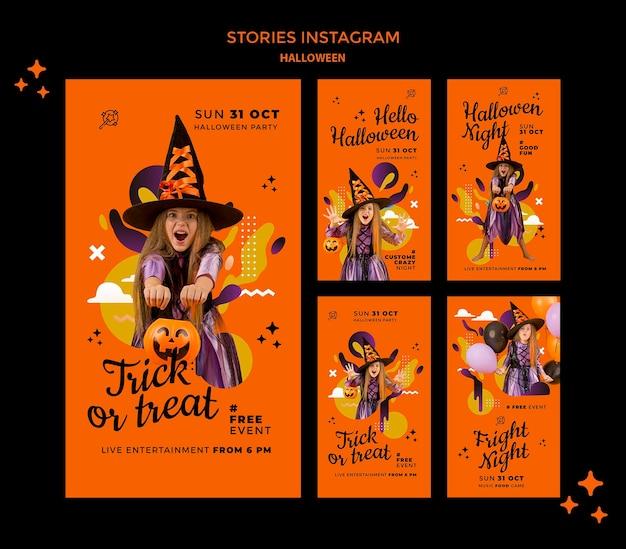 Storie sui social di halloween halloween