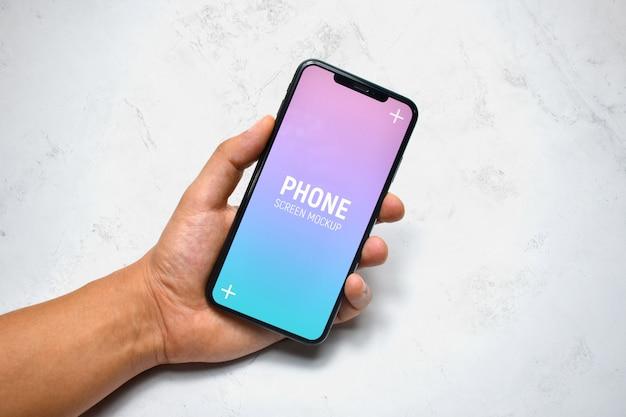 Mockup smartphone palmare