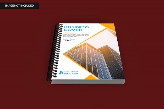 Notebook rilegato a spirale con copertina rigida