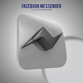 Icona di alta qualità messaggero 3d resa