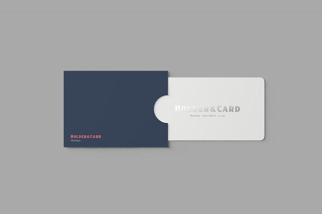 Titolare e mockup di carte