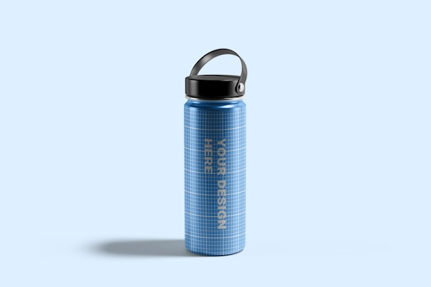 Hydro flask water bottle mockup