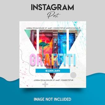 Modello di post di instagram