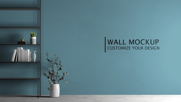 Assortimento di mensole per l'interior design