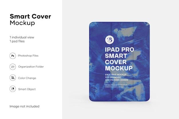 Mockup di smart cover per ipad pro