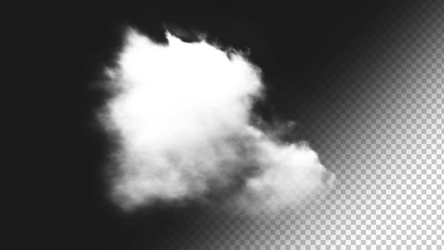 Sfondo nuvola isolato 5