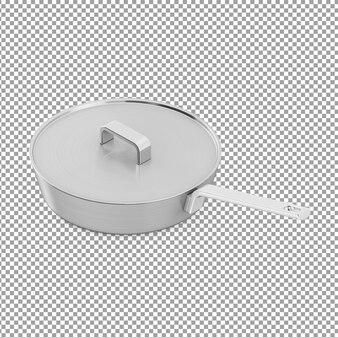 Padella isometrica con coperchio