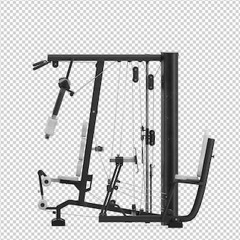 Attrezzature da palestra isometrica