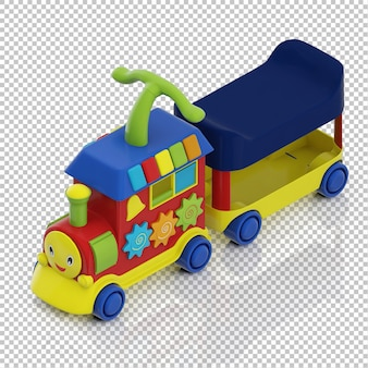 Treno per bambini isometrici
