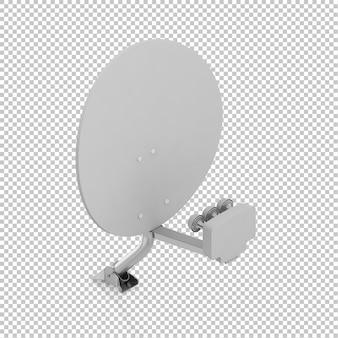Antenna parabolica isometrica