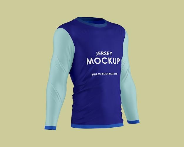 Design mockup in jersey