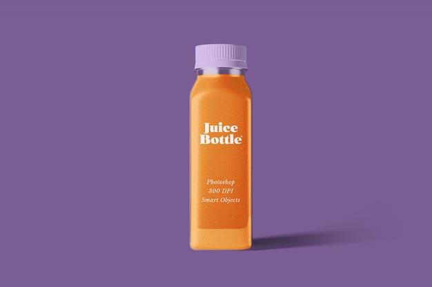 Mockup di succo di bottiglia