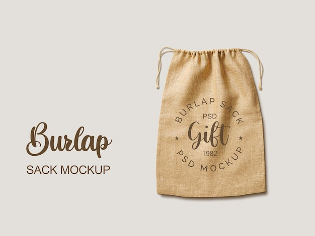 Modello di borsa regalo di jut jut