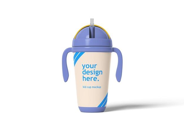 Kid cup mockup