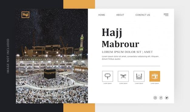Pagina di destinazione hajj mabrour