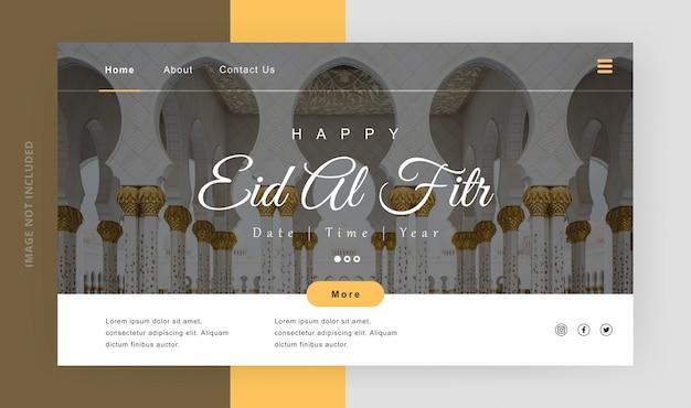 Pagina di destinazione ramadan karem happy ied al fitr