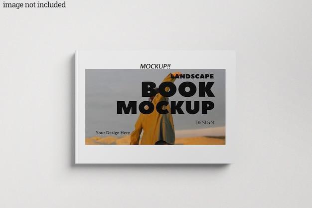 Mockup di libro paesaggistico