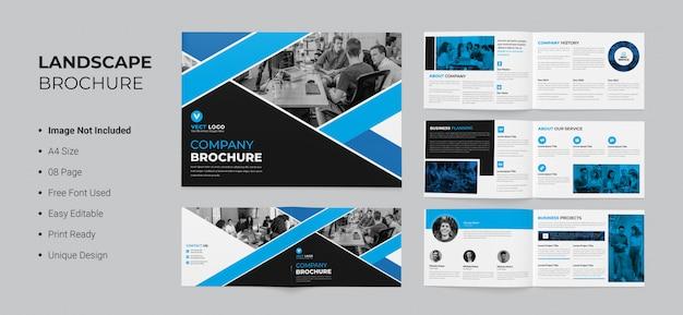 Progettazione brochure paesaggistica
