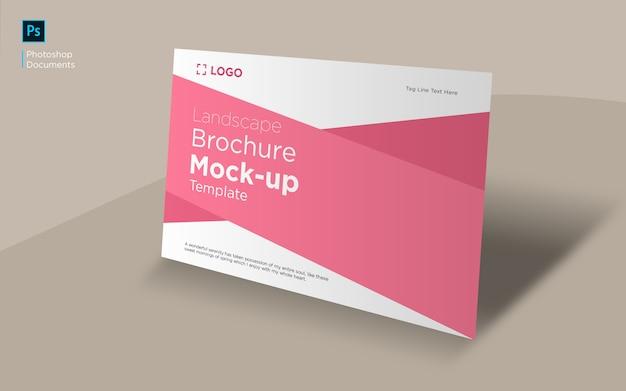 Mockup brochure paesaggistica