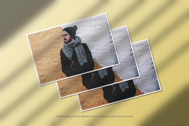 Modello di cornice per foto di paesaggio