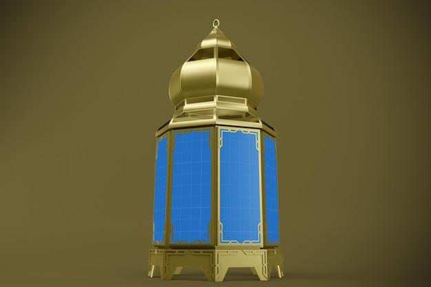 Lanterna mockup Psd Premium