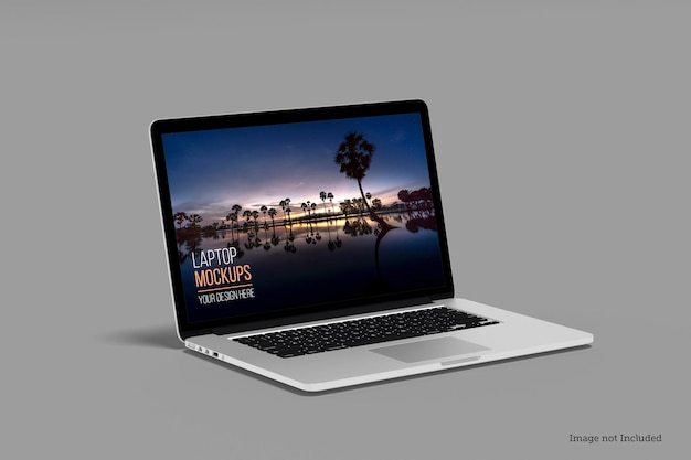 Mockup di laptop