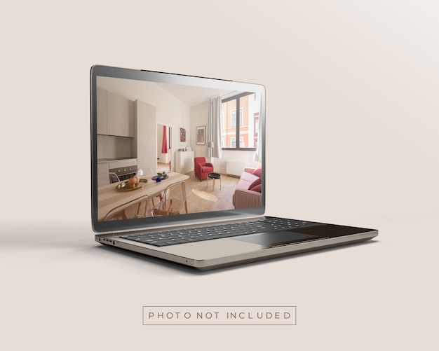 Laptop o notebook mockup