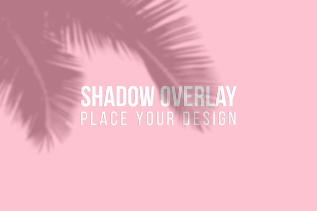 Lascia il concetto trasparente dell'effetto di sovrapposizione delle ombre