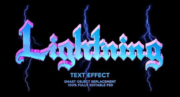Effetto testo luminoso light