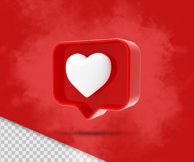 Come instagram isolato