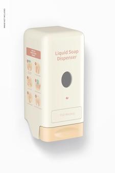 Mockup di dispenser di sapone liquido