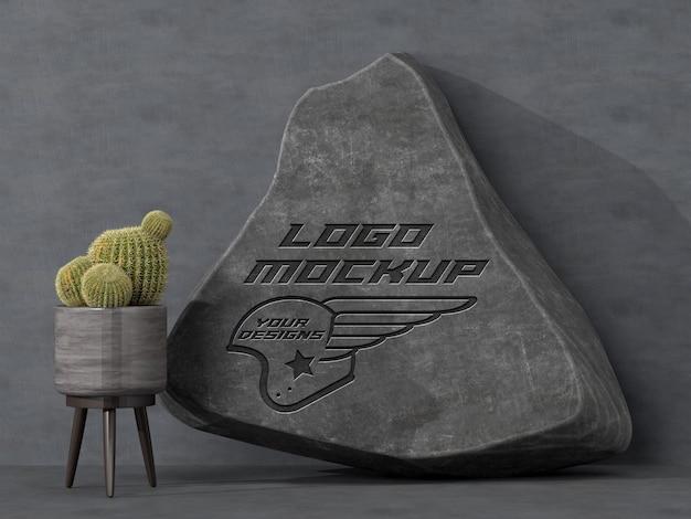 Logo mockup branding pubblicità identità aziendale