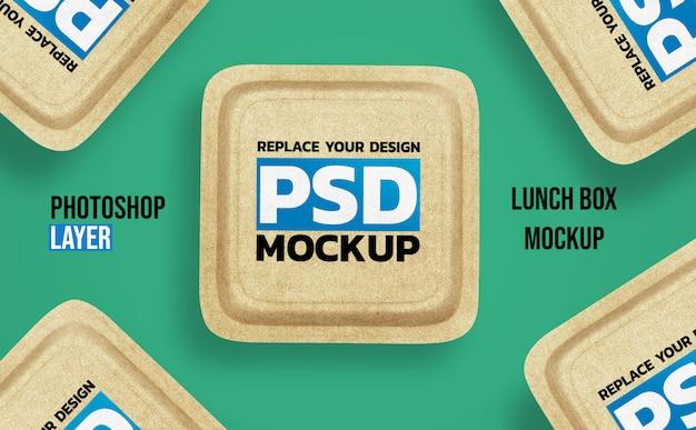 Lunch box mockup