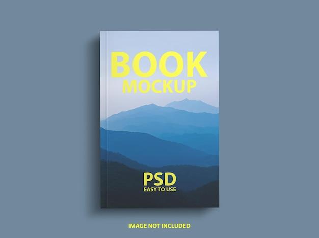 Design mockup di copertina del libro di lusso