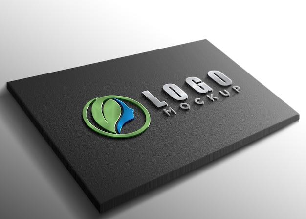 Mockup logo di lusso