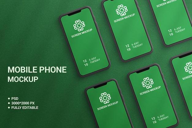 Mockup di cellulare di lusso